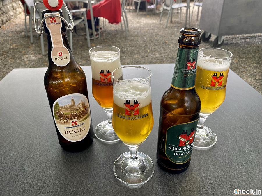 Degustazione birre Feldschlösschen - Canton Argovia, Svizzera