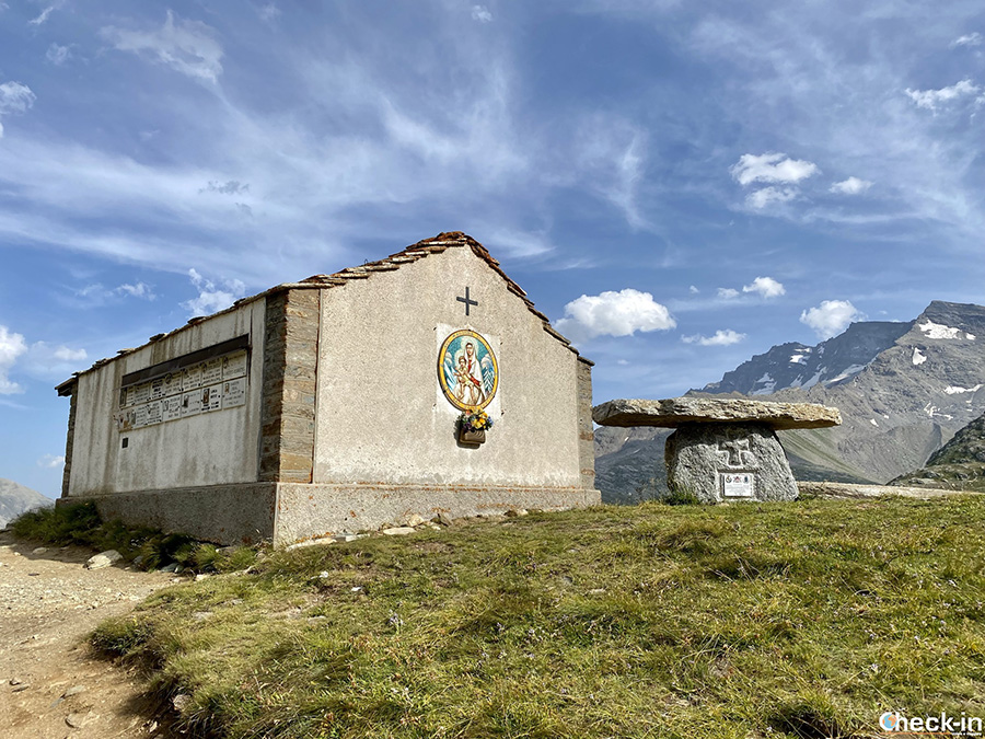Punti panoramici lungo la strada provinciale 50 tra Ceresole Reale e Colle del Nivolet