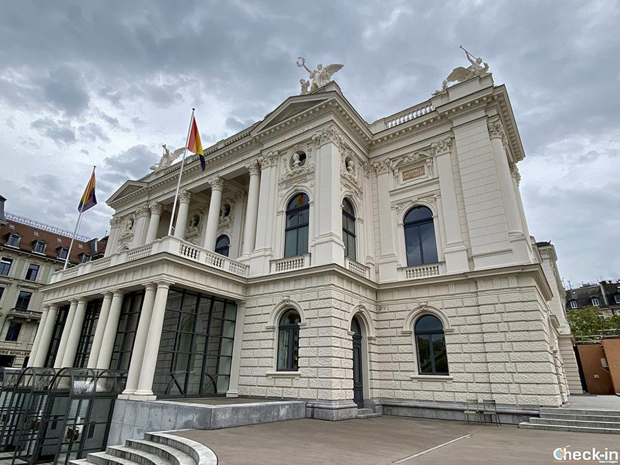 Monumenti da vedere a Zurigo: Teatro dell'Opera