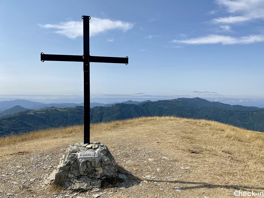 Cime da scalare nel Parco dell'Antola: Monte Carmo di Carrega (1.462 m)