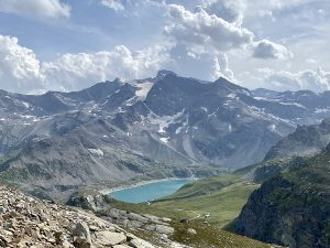 Laghi Serrù e Agnel dal Colle del Nivolet - Parco Nazionale del Gran Paradiso