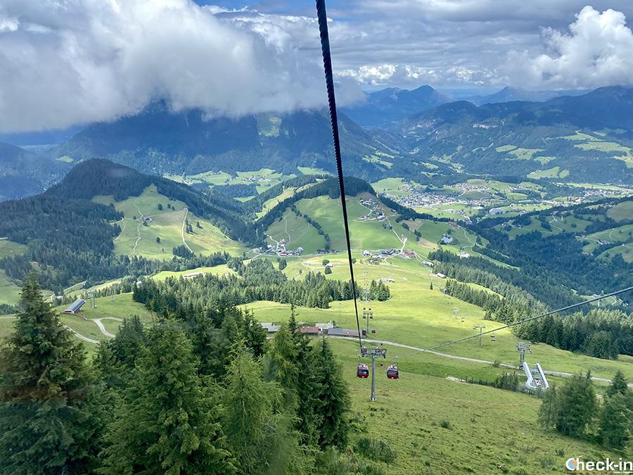 Funivia Hexenwasser-Hohe Salve di Söll - Wilder Kaiser, Tirolo