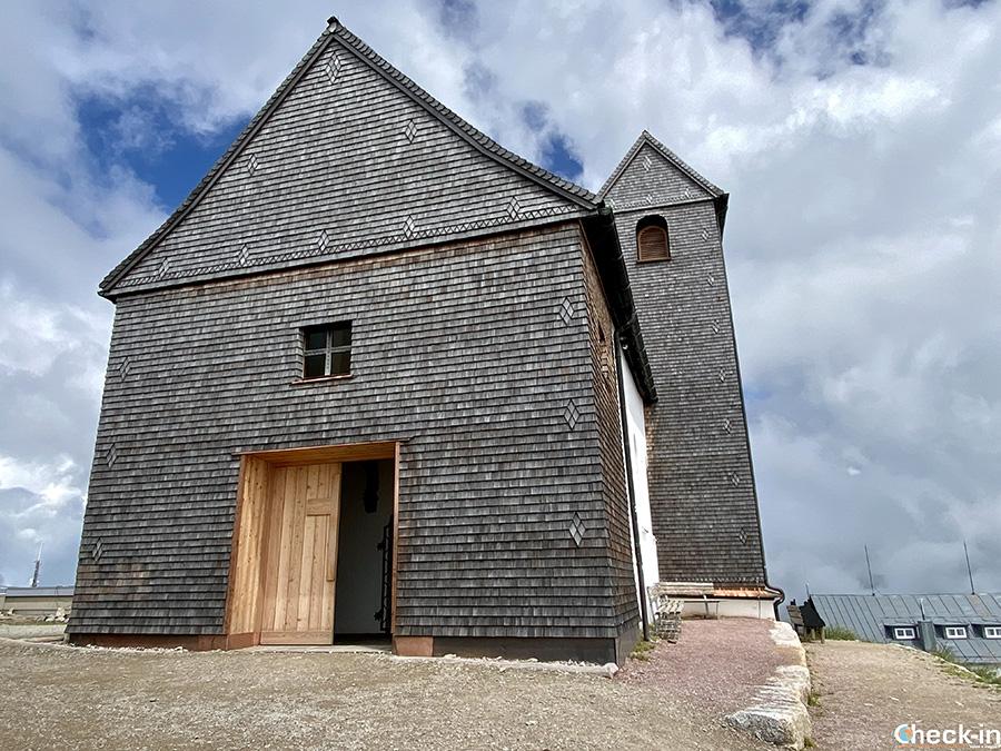 M.te Hohe Salve (1.829 m) - Tempio religioso più alto dell'Austria