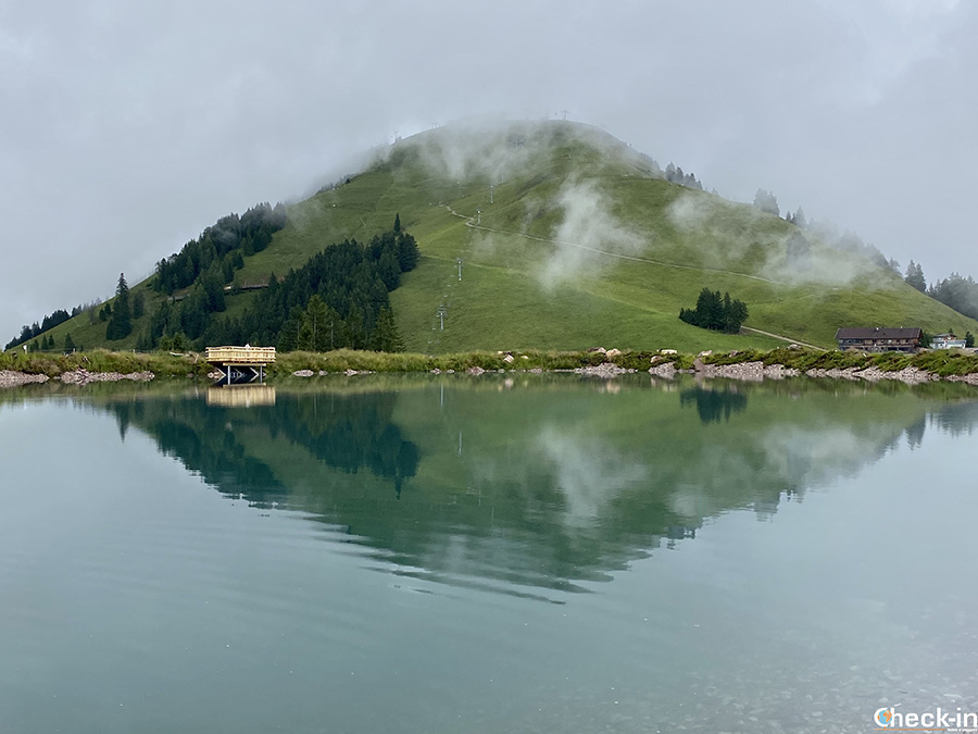 Lago e Kleine Salve da Söll e Itter - Wilder Kaiser, Tirolo