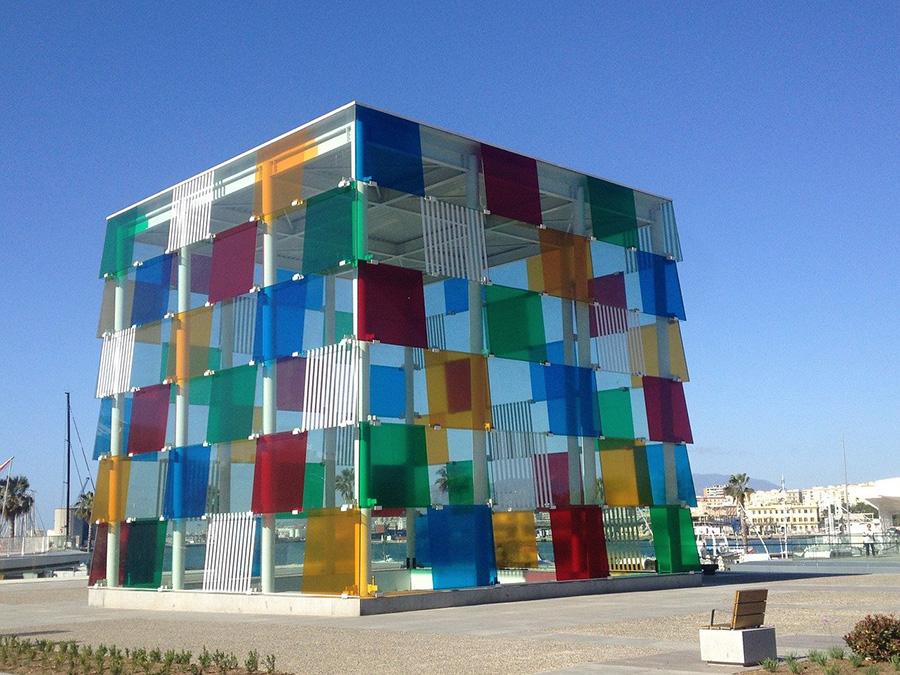 Museos que no hay que perder en Málaga - Centre Pompidou (Puerto de Málaga)