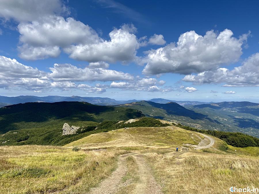 Informazioni trekking da Prato della Cipolla al Monte Bue e rientro in seggiovia
