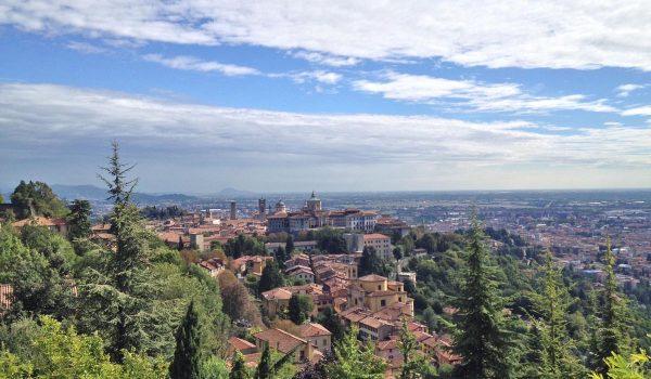5 cose da vedere a Bergamo: la Città Alta dal Colle S. Vigilio