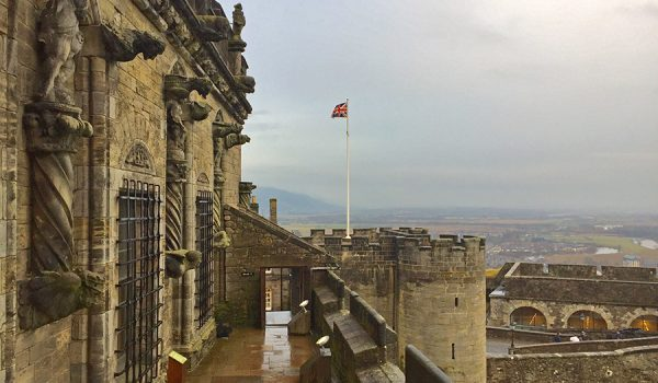 Discover Stirling Castle in central Scotland