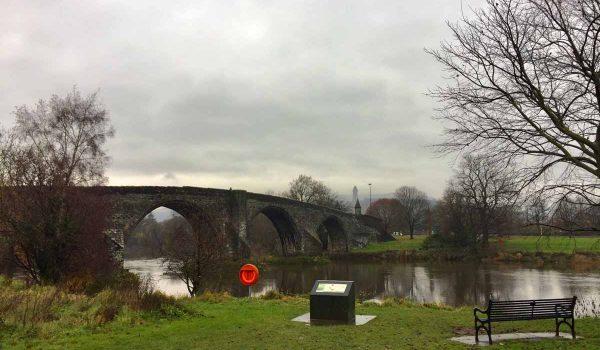 Ponte di Stirling dove vinse William Wallace contro gli inglesi