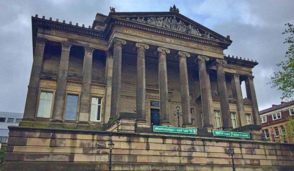 L'Harris Museum & Art Gallery a Preston (Lancashire)
