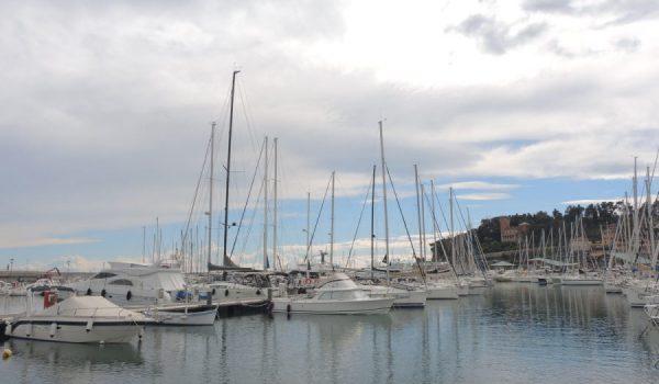Imbarcazioni ormeggiate alla Marina di Varazze - Liguria