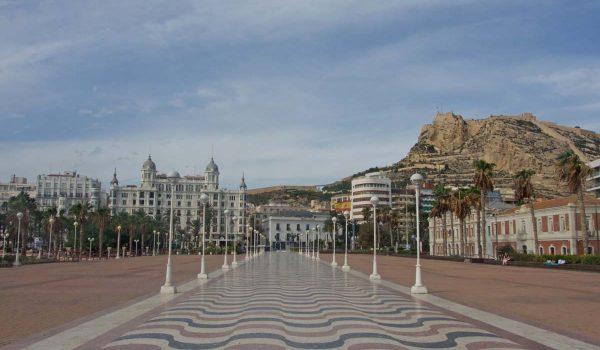 Cartolina da Alicante - Costa Blanca, Comunidad Valenciana (Spagna)