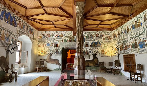 L'albero genealogico nella Sala degli Asburgo - Castello Tratzberg, Tirolo