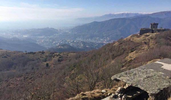Resti del Forte Fratello Maggiore - Genova, Liguria