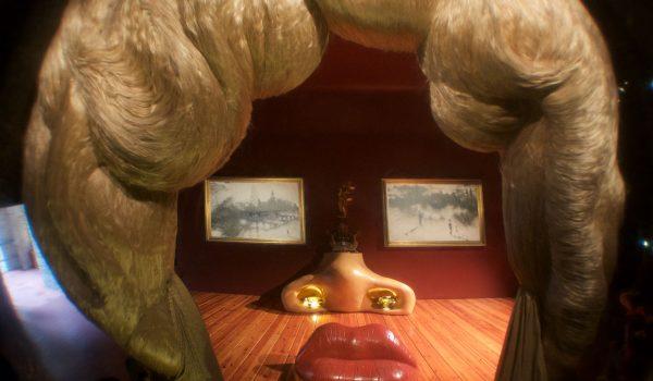 Museo Dalí di Figueres: ritratto di Mae West