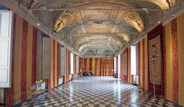 La galleria aurea della Villa del Principe a Genova
