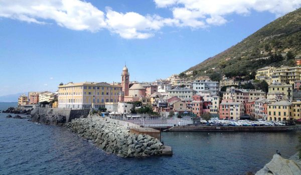 Il porticciolo di Genova Nervi