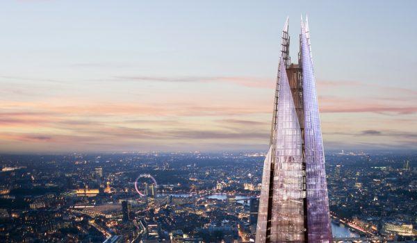 The Shard, il grattacielo di Londra progettato da Renzo Piano