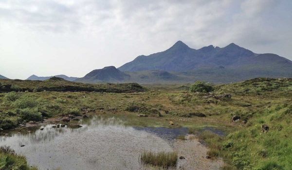 Most iconic places in Scotland - Cuillin Mountains (Isle of Skye)