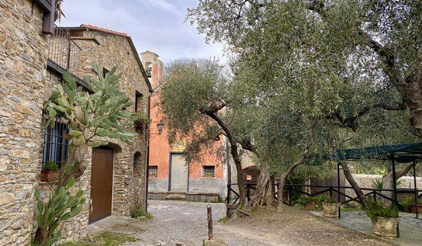 Sentiero verso l'antico Mulino e Capo Mele da Colla Micheri (SV)