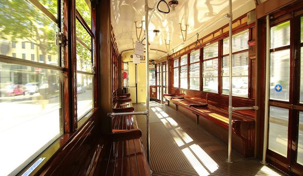 How to travel on famous Milan historic trams? Trip to Lombardy, northern Italy