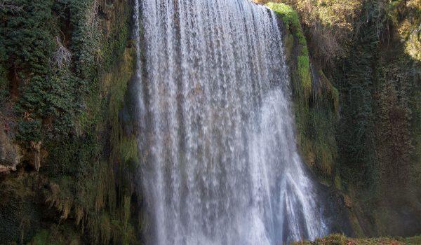Parque del Monasterio de Piedra: la Cascada La Caprichosa