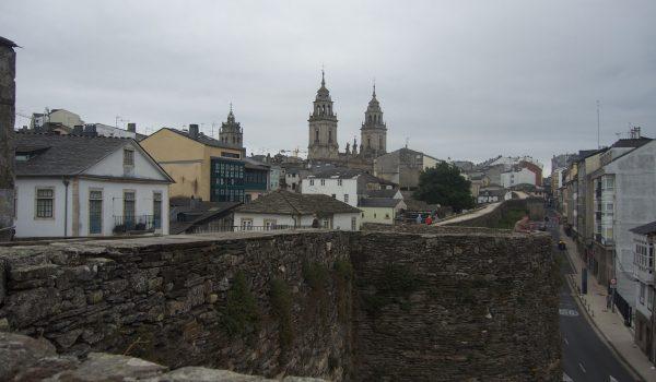 La muralla romana de Lugo, Patrimonio Unesco por la Humanidad - Galicia, España
