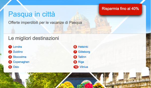 offerte hotel Hotels.com per Pasqua e primvera