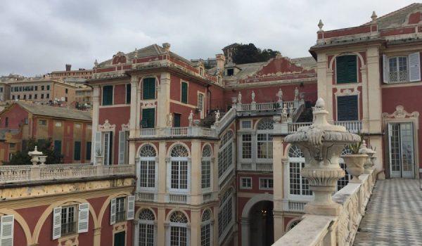 Terrazza panoramica del Museo di Palazzo Reale a Genova