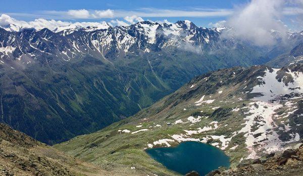 Vetta Gaislachkogel a Sölden - Ötztal, Austria