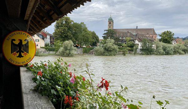 Città da visitare al confine tra Germania e Svizzera: Bad Säckingen (Baden-Württemberg)