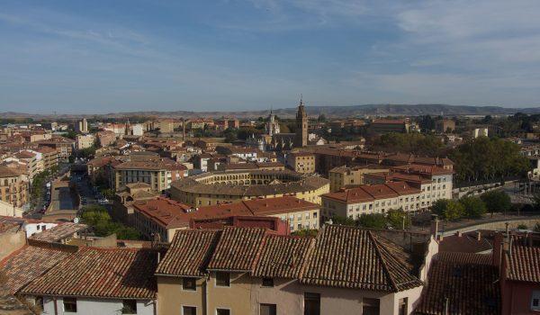 Que hacer en Tarazona en un día: llegar al Mirador de Prudencio