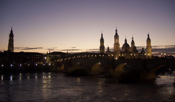 Cose da fare nel centro storico di Saragozza: vedere il tramonto immortalato dal Balcón de San Lázaro