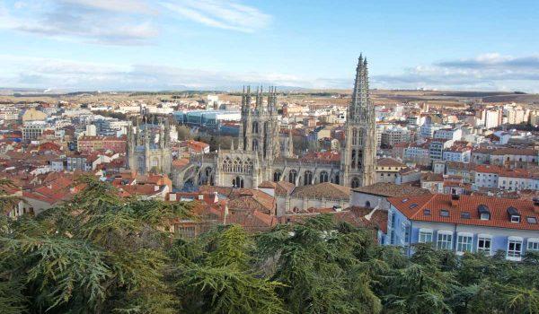 Panorama di Burgos dal castello | Check-in Travel Blog