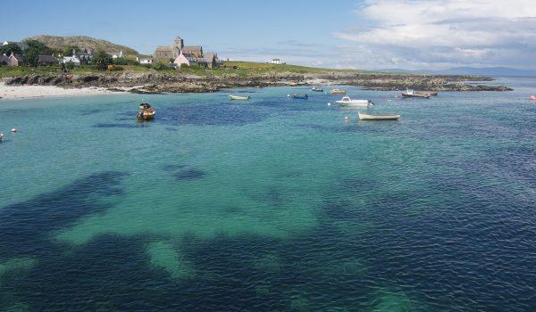 Tour delle isole Ebridi: arrivo in traghetto all'isola di Iona
