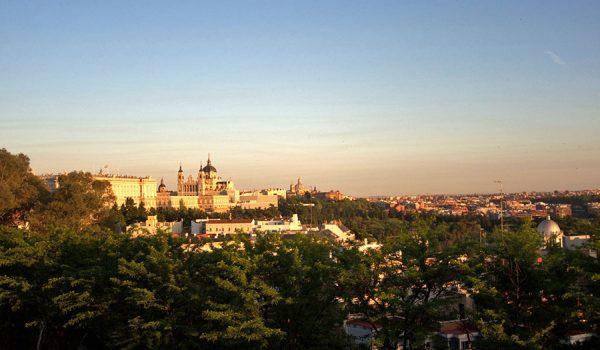 9 miradores en pleno centro de Madrid: Templo de Debod (gratuito)